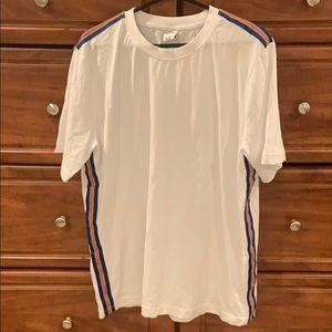 Urban Outfitters T-Shirt w/ Blue, Orange Stripe
